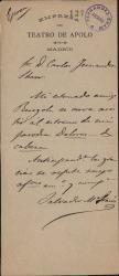 Cartas de Salvador María Granés a Carlos Fernández Shaw.