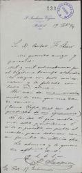 Cartas de José Jackson Veyán a Carlos Fernández Shaw.