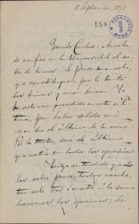 Cartas de José Torres Reina a Carlos Fernández Shaw.