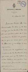 Cartas de Antonio López Monís a Carlos Fernández Shaw.