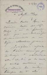 Cartas de José López Silva a Carlos Fernández Shaw.