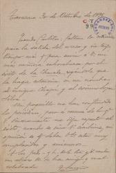 Cartas de Tomás Luceño a Carlos Fernández Shaw.