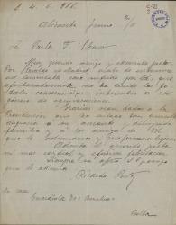 Cartas de Ricardo Pastor a Carlos Fernández Shaw.