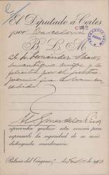 Cartas de Hermenegildo Giner de los Ríos a Carlos Fernández Shaw.