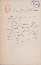 Cartas de Mario Méndez a Carlos Fernández Shaw.