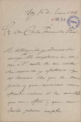 Cartas de María del Pilar Contreras a Carlos Fernández Shaw.