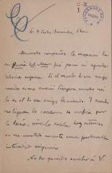Cartas de Gabriel Alomar a Carlos Fernández Shaw.