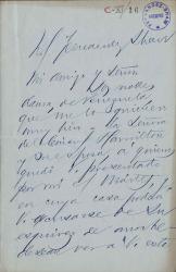 Cartas de José Martí a Carlos Fernández Shaw.