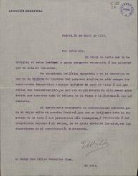 Cartas de Eduardo Wilde a Carlos Fernández Shaw.