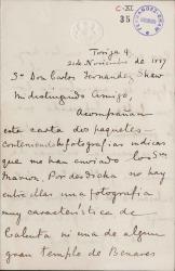 Cartas de A. C. Grant Duff a Carlos Fernández Shaw.