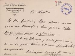 Cartas del Teniente Coronel José Ibáñez Marín a Carlos Fernández Shaw.