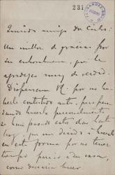 Cartas de Manuel de Falla a Carlos Fernández Shaw y Cecilia Iturralde, su esposa.