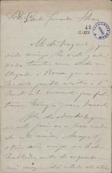 Cartas de Manuel Fernández Alberdi a Carlos Fernández Shaw.