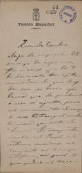 Cartas de Eduardo López Juarranz a Carlos Fernández Shaw.