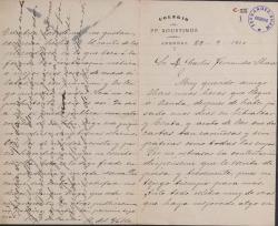 Cartas del Padre Restituto del Valle a Carlos Fernández Shaw.