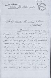 Cartas de Ricardo León a Carlos Fernández Shaw.
