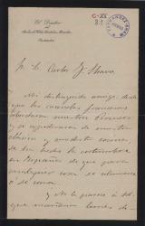 Cartas de Enrique Pérez Escrich a Carlos Fernández Shaw.