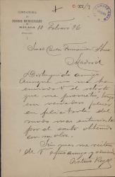 Cartas de Arturo Reyes a Carlos Fernández Shaw.