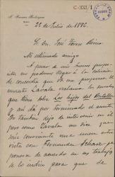 Cartas de José Francos Rodríguez a Carlos Fernández Shaw y José Torres Reina.