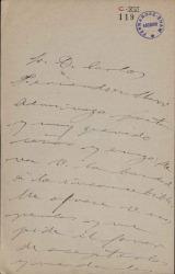 Cartas de Roberto Castrovido a Carlos Fernández Shaw y Cecilia Iturralde, su esposa.