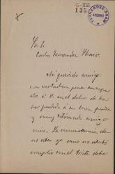 Cartas de Ángel María Dacarrete a Carlos Fernández Shaw.