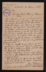 Cartas de José Estrani a Carlos Fernández Shaw.