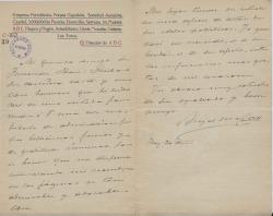 Cartas de Ángel María Castell a Carlos Fernández Shaw.