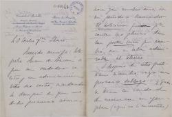 Cartas de Cristóbal Botella a Carlos Fernández Shaw.