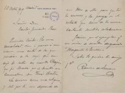 Cartas de Ramiro de Lezcano a Carlos Fernández Shaw.