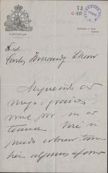 Cartas de Adolfo Navarrete a Carlos Fernández Shaw y Cecilia Iturralde, su esposa.