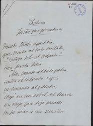 Cartas de Ramón de Campoamor a Carlos Fernández Shaw.