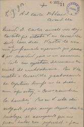 Cartas de Luis Brun a Carlos Fernández Shaw y Cecilia Iturralde, su esposa.