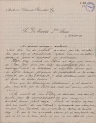 Cartas de Luis de Zulueta a Carlos Fernández Shaw.