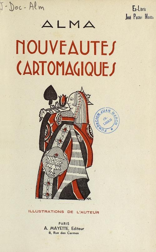Libro : Nouveautes cartomagiques
