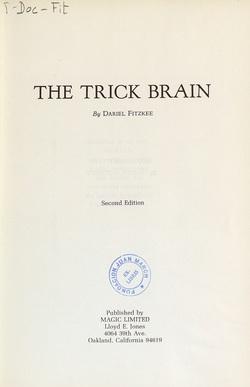 Ver ficha del libro: THE TRICK BRAIN