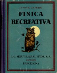 Ver ficha del libro: FÍSICA RECREATIVA
