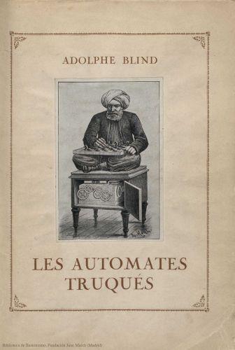 Book : Les automates truqués