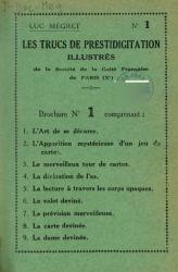 Ver ficha del libro: LES TRUCS DE PRESTIDIGITATION ILLUSTRÉS