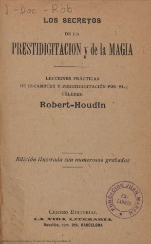 Book : Los secretos de la prestidigitación y de la magia