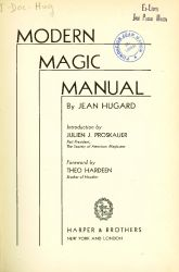 Ver ficha del libro: MODERN MAGIC MANUAL