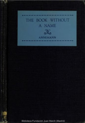 Libro : The book without a name