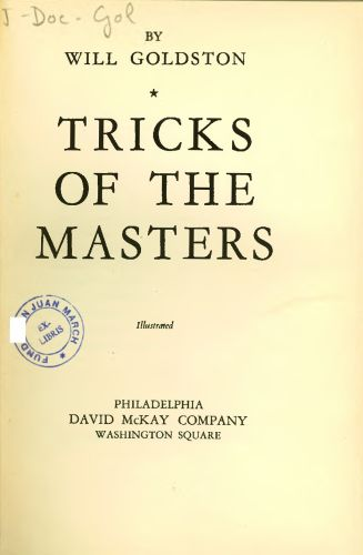 Book : Tricks of the masters