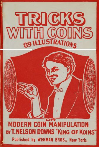 Book : Tricks with coins or Modern coin manipulation