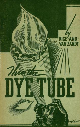 Book : Thru the dye tube