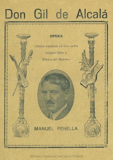 Argumento y cantables [de Don Gil de Alcalá