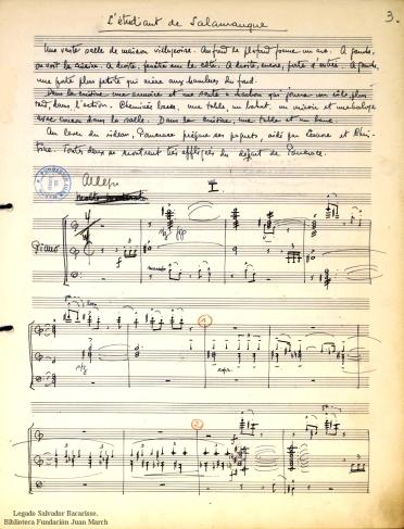 El Estudiante de Salamanca:ópera bufa en 1 acto = L'étudiant de Salamanque : opéra bouffe en 1 acte : [op. 38]