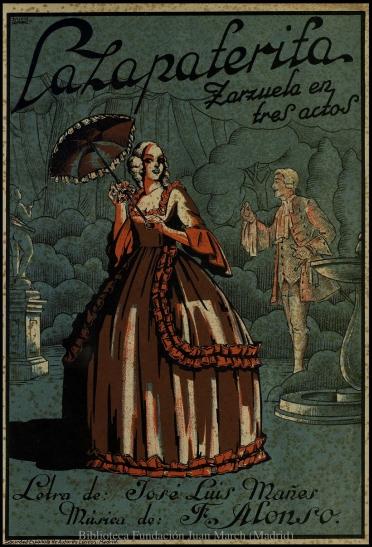 La zapaterita:N. 9, Caballeros en plaza : zarzuela en tres actos