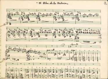El Pilar de la Victoria:[acto I] : [ópera en dos actos]