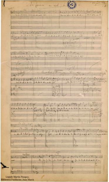La Tarasca:ópera bufa en un acto y dos cuadros