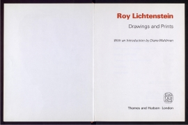 Roy Lichtenstein, drawings and prints